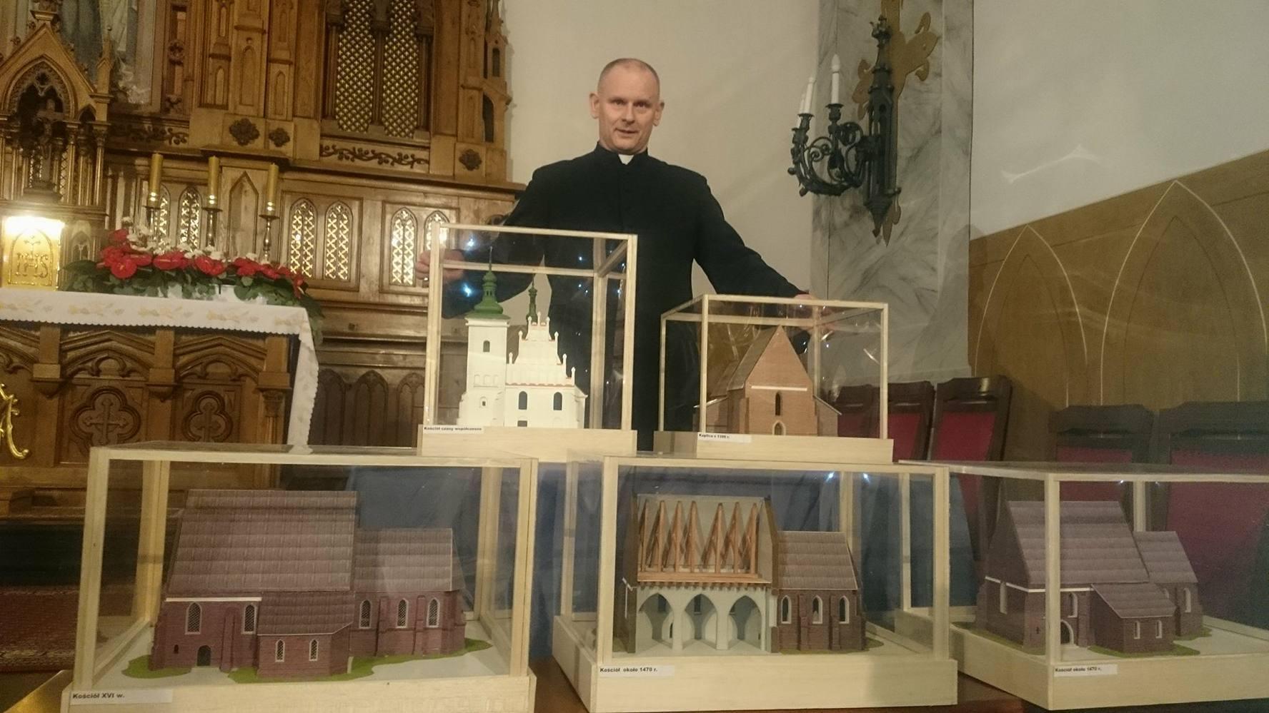 Kościół pobrygidkowski sprzed lat