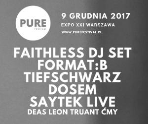 Pure Festival już 9 Grudnia !