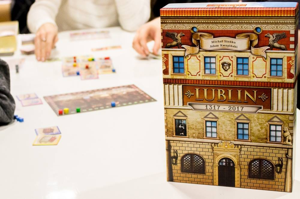 Gra planszowa o Lublinie na 700-lecie miasta