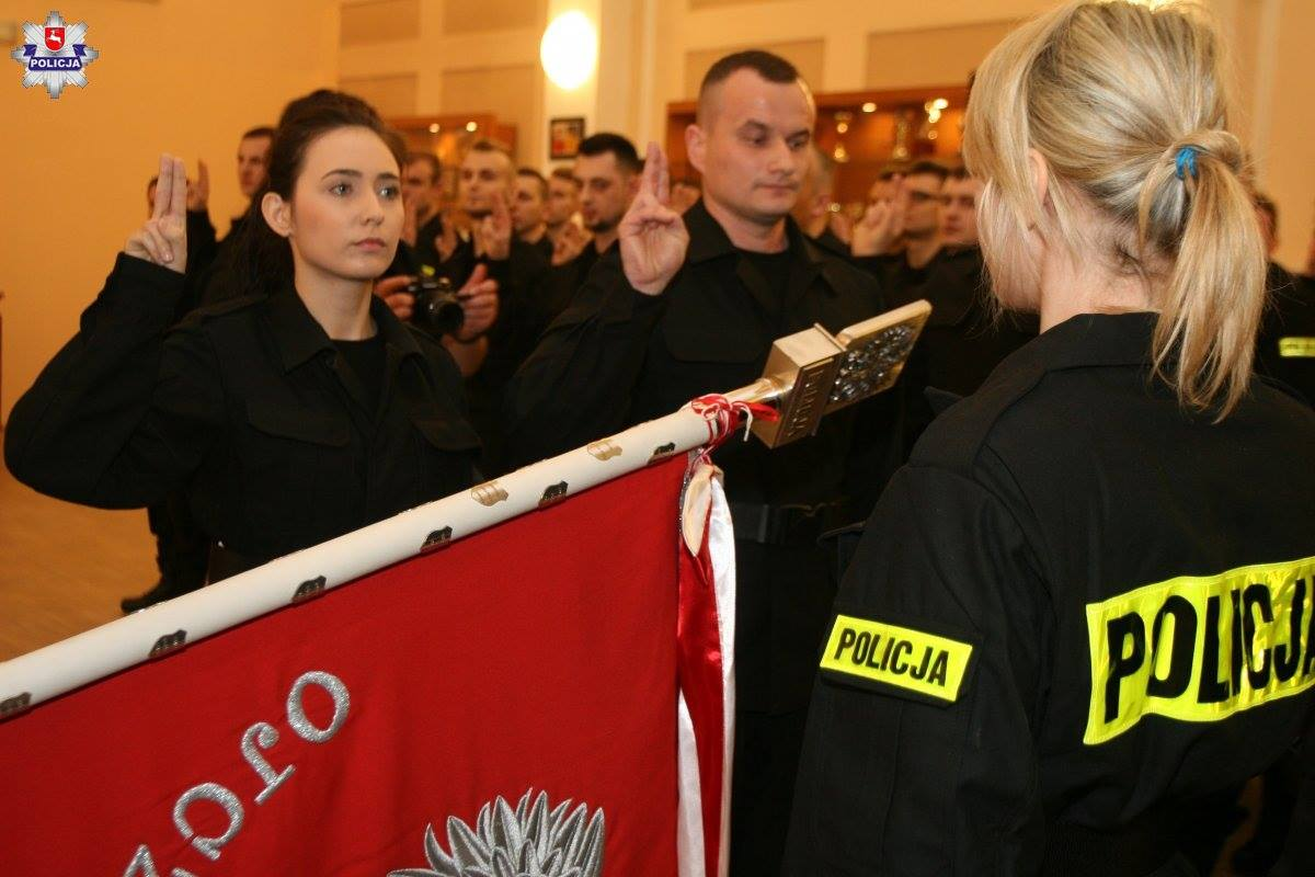 Garnizon Lubelski powiększył się o 111 nowych policjantów