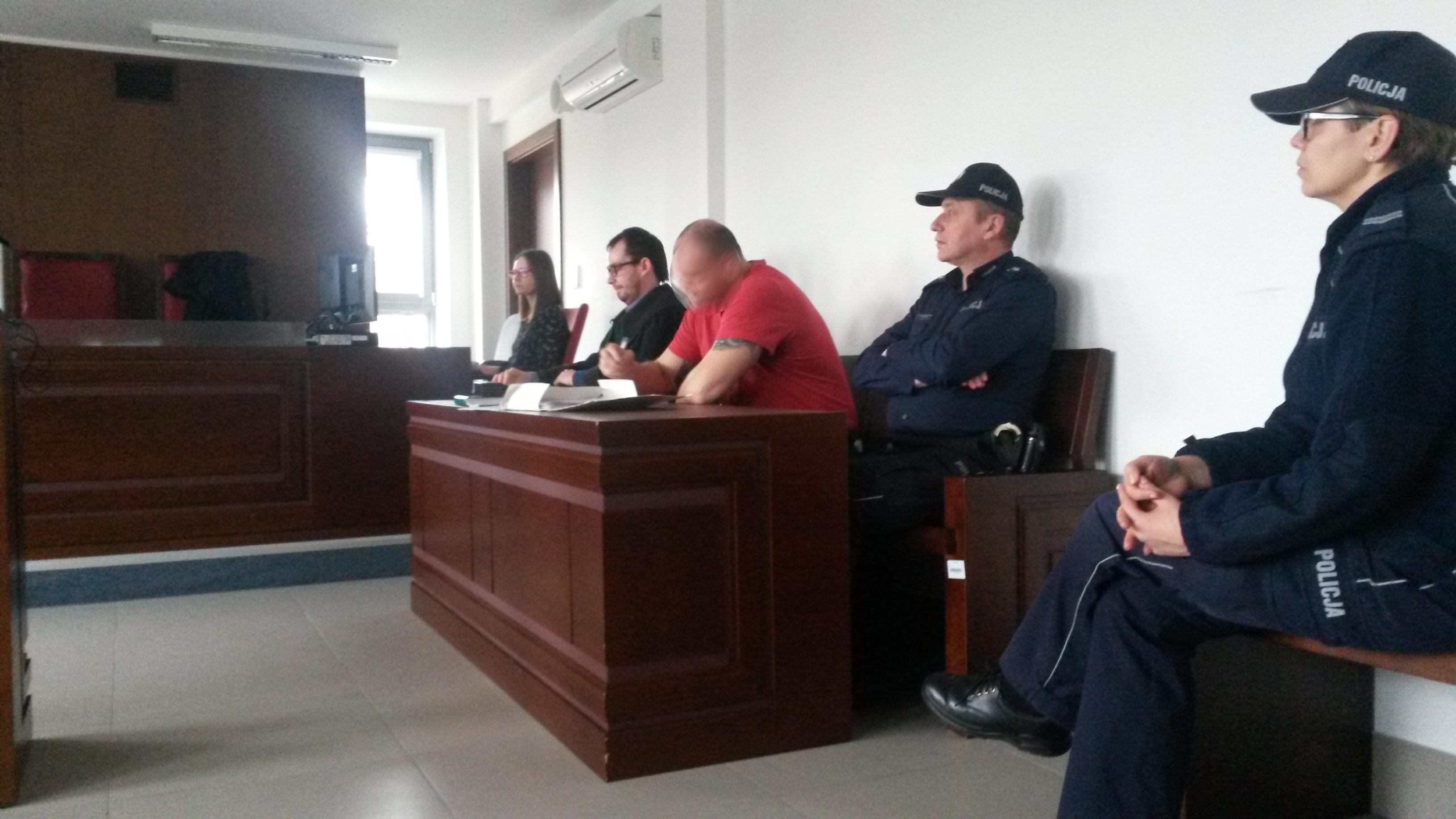 Przed Sądem Okręgowym w Lublinie rozpoczął się proces mężczyzny oskarżonego o pobicie studenta z Ukrainy.