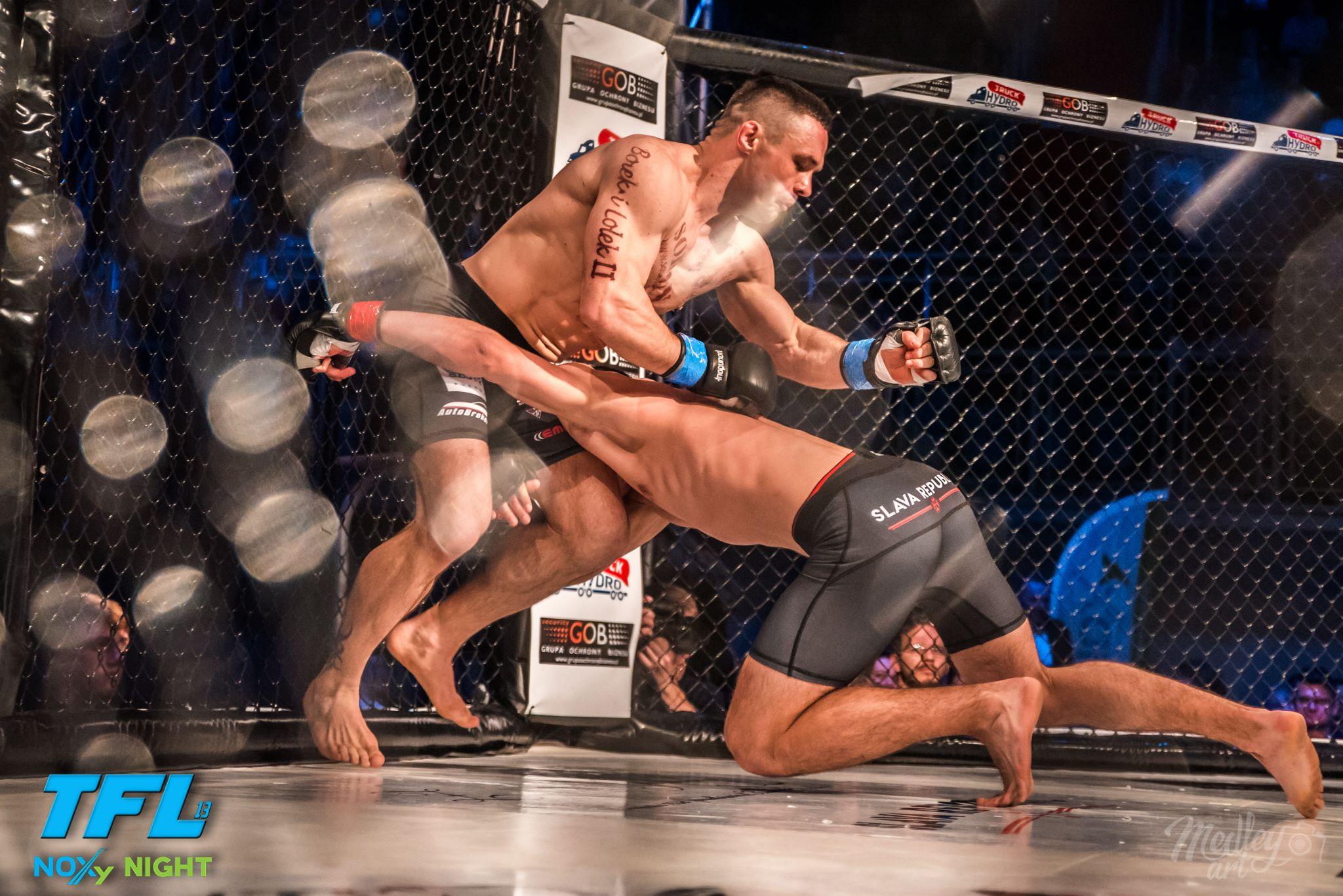 Najlepsi zawodnicy zmierzyli się w Lublinie podczas międzynarodowej Gali MMA TFL.