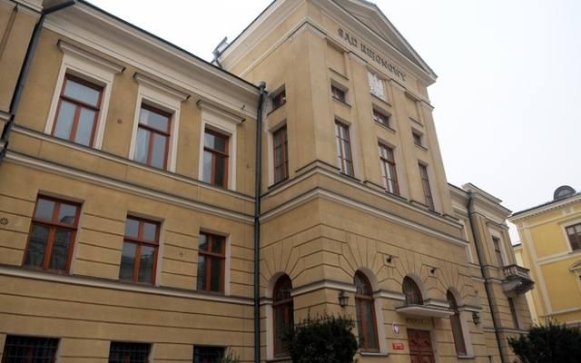 """Wyrok roku więzienia w zawieszeniu na trzy lata usłyszał """"Tulipan"""" z lubelskiego ratusza."""