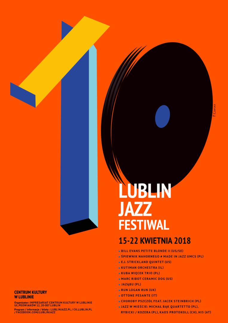 Wspólny występ Włodzimierz Nahorny Trio i studentów Jazzu i Muzyki Estradowej UMCS otworzy tegoroczny Lublin Jazz Festiwal.