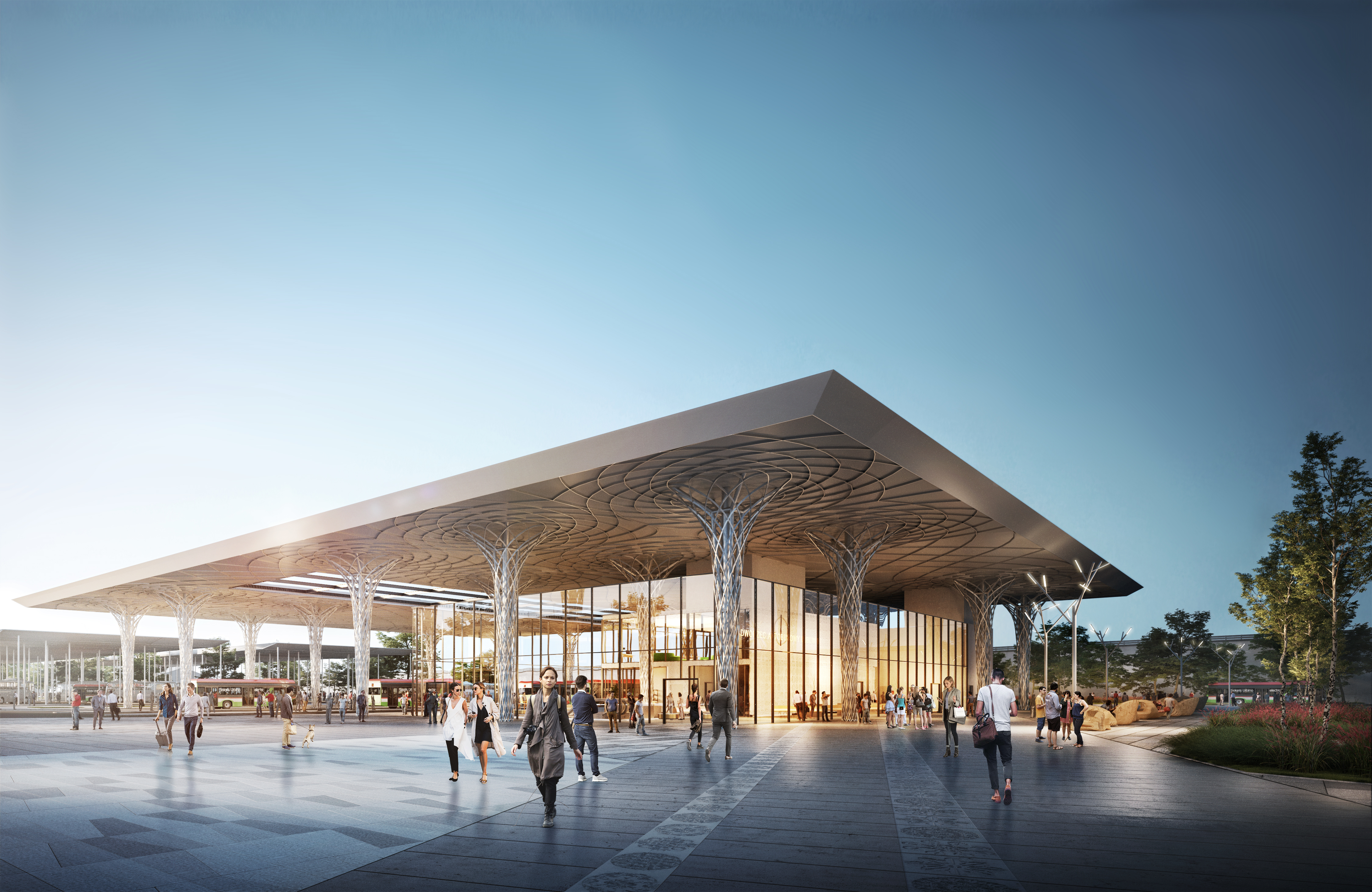 Znamy ostateczną koncepcję dworca metropolitarnego