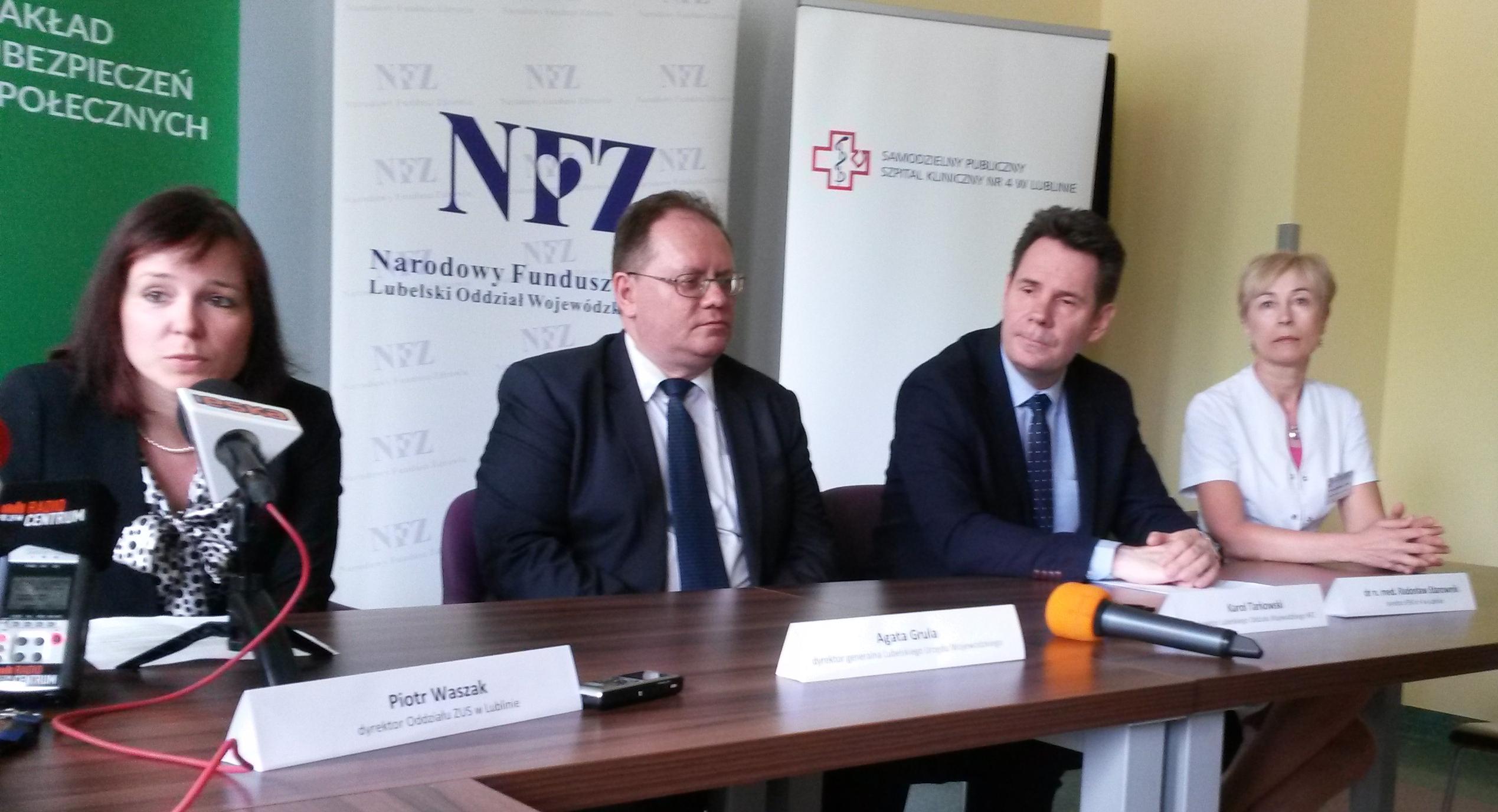 Coraz więcej zwolnień lekarskich w województwie lubelskim jest wystawianych elektronicznie.