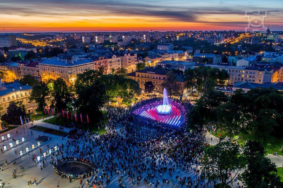 Harmonogram pokazów multimedialnych na Placu Litewskim