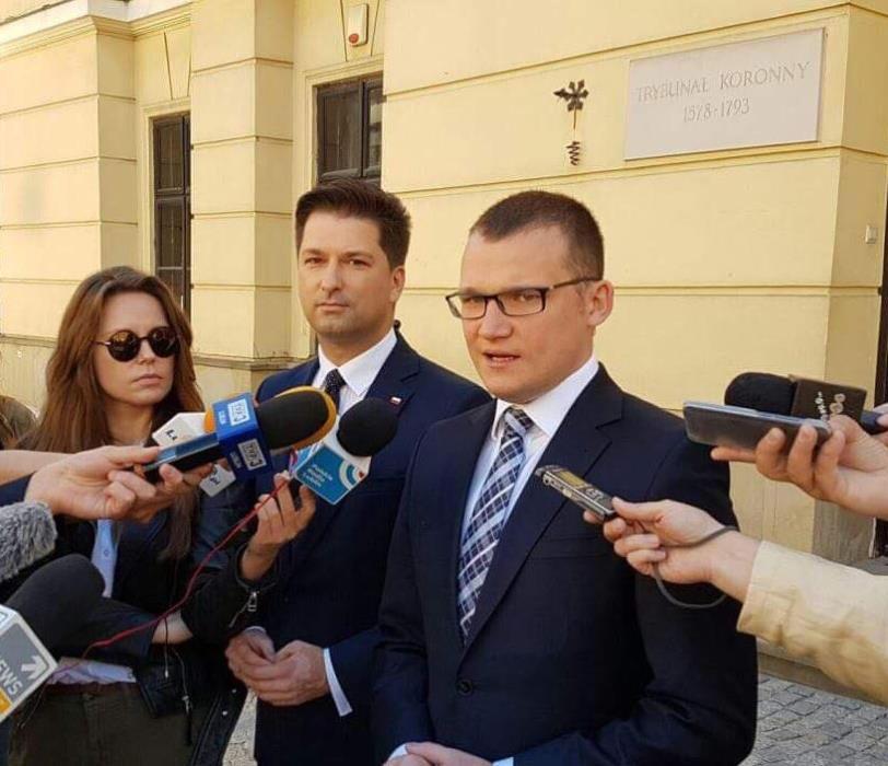 Sekretarz stanu w MSWiA wsparł Sylwestra Tułajewa w nadchodzących wyborach samorządowych