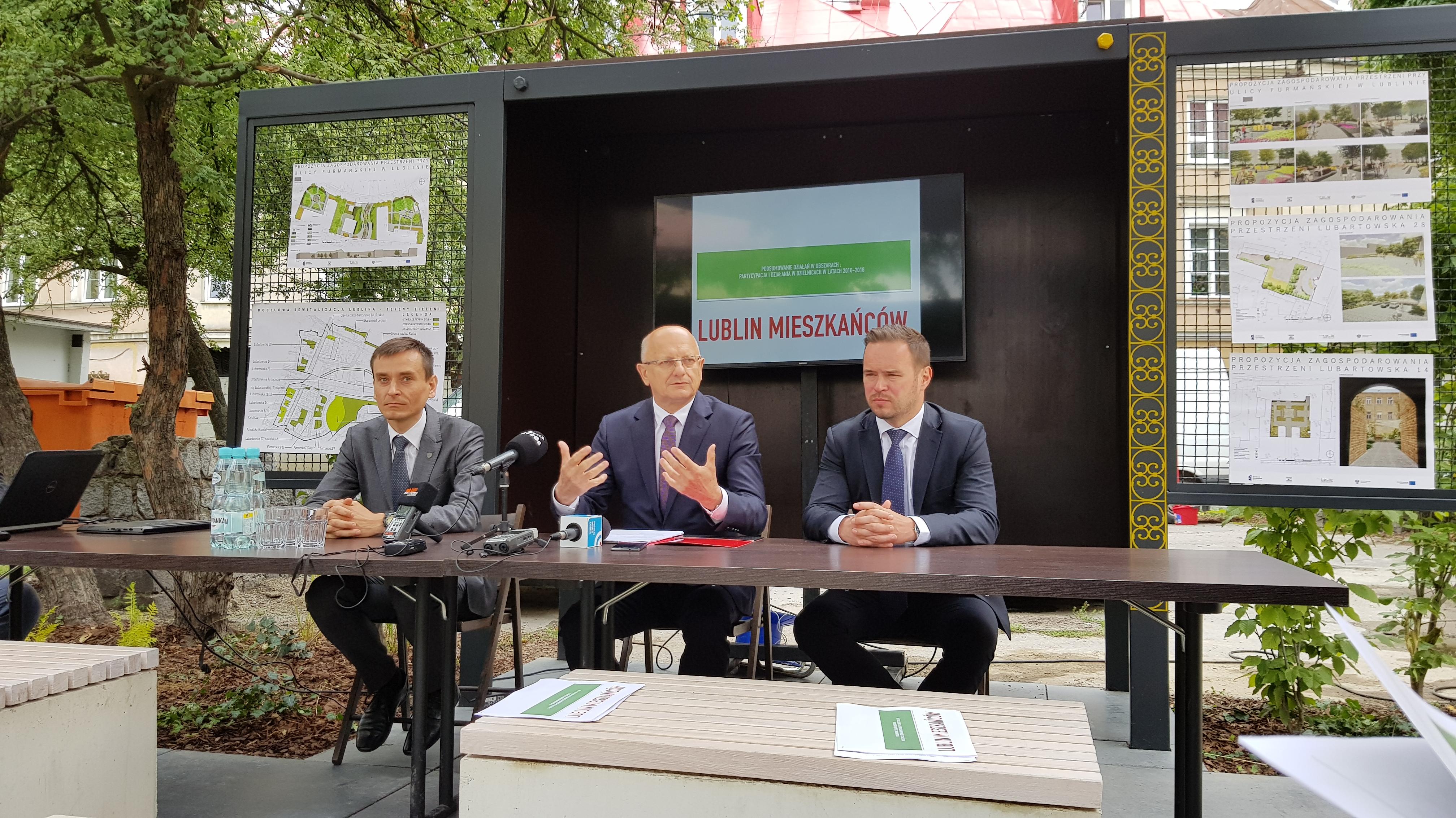 Prezydent Lublina podsumował osiem lat działań w mieście.