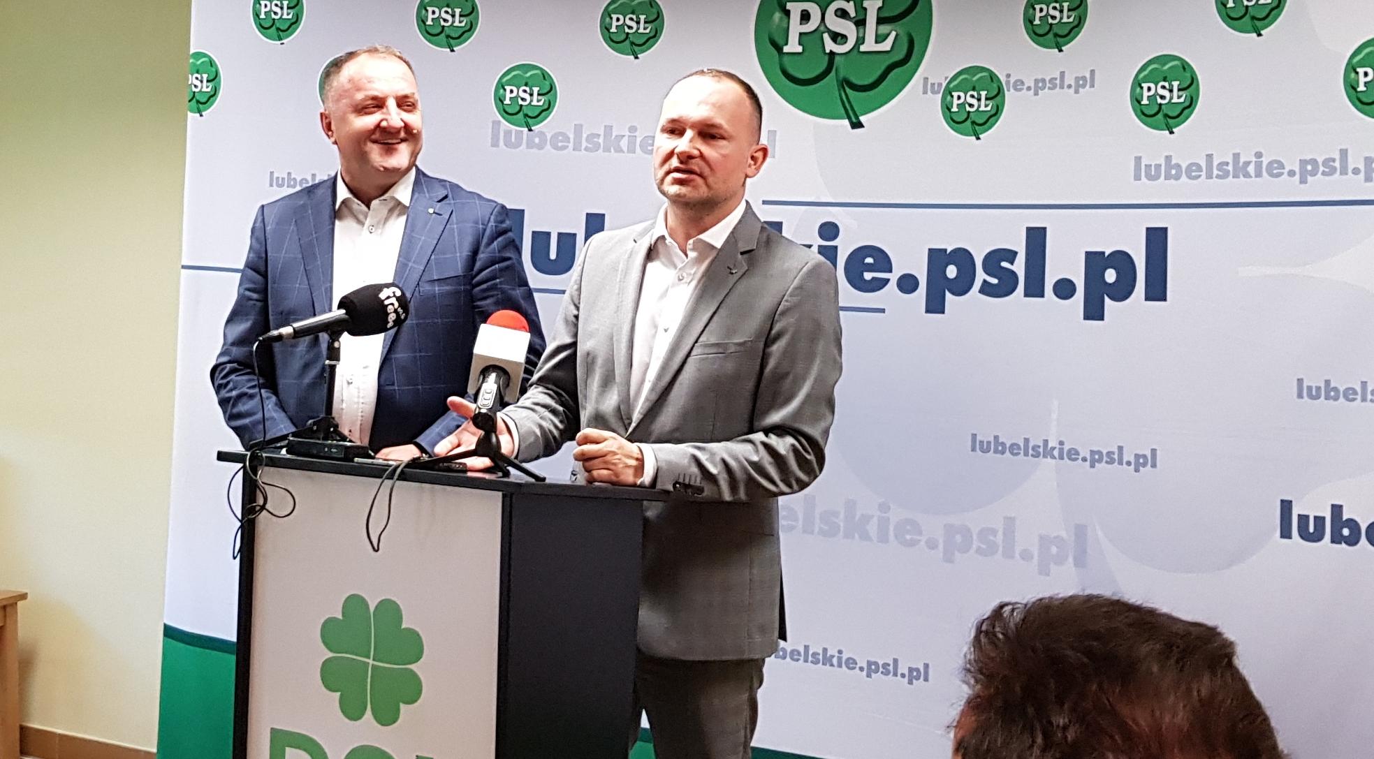 Polskie Stronnictwo Ludowe staje w obronie radnych sejmiku wojewódzkiego Prawa i Sprawiedliwości.