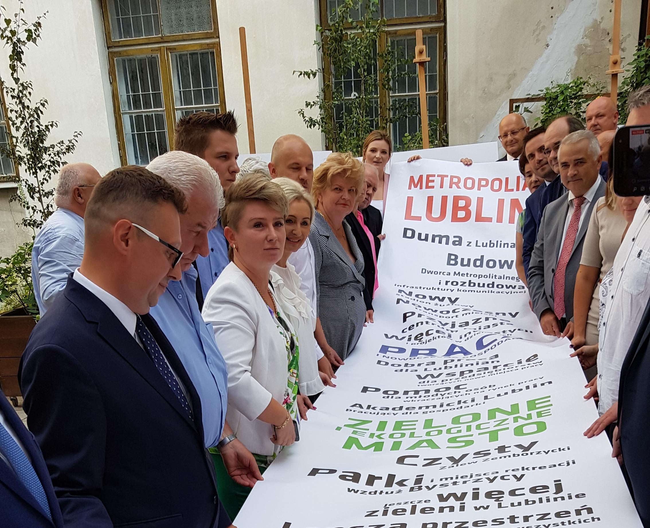 Znamy program wyborczy prezydenta Lublina