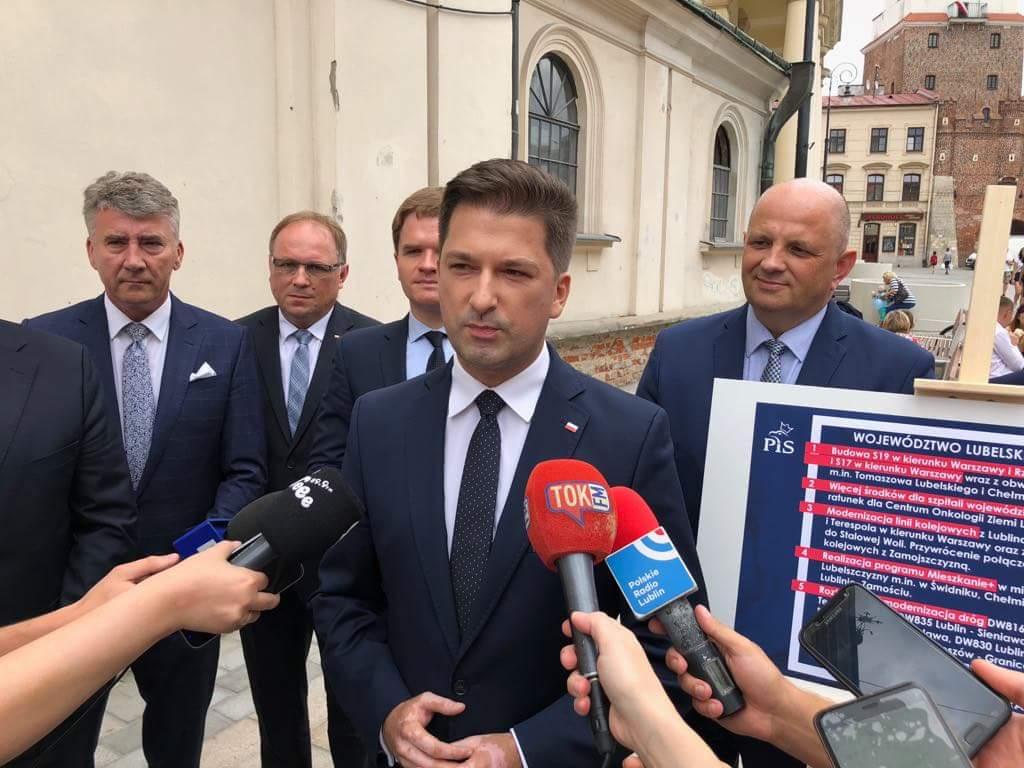 Kandydat PiS na prezydenta Lublina obiecuje budowę Mieszkań Plus