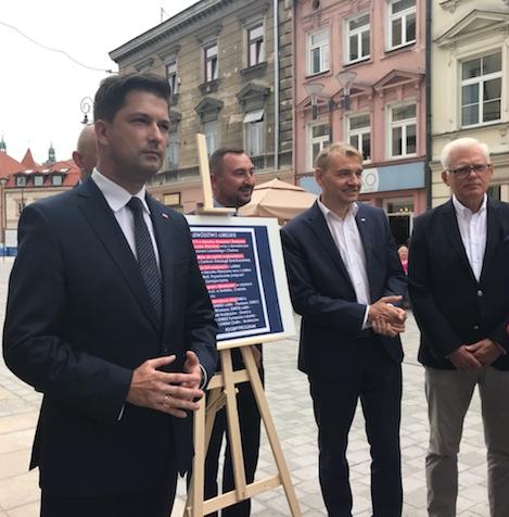 Kandydat Prawa i Sprawiedliwości na prezydenta Lublina stawia na współpracę