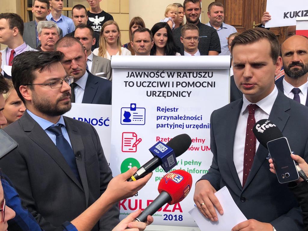 Nowy kandydat w walce o fotel prezydenta Lublina