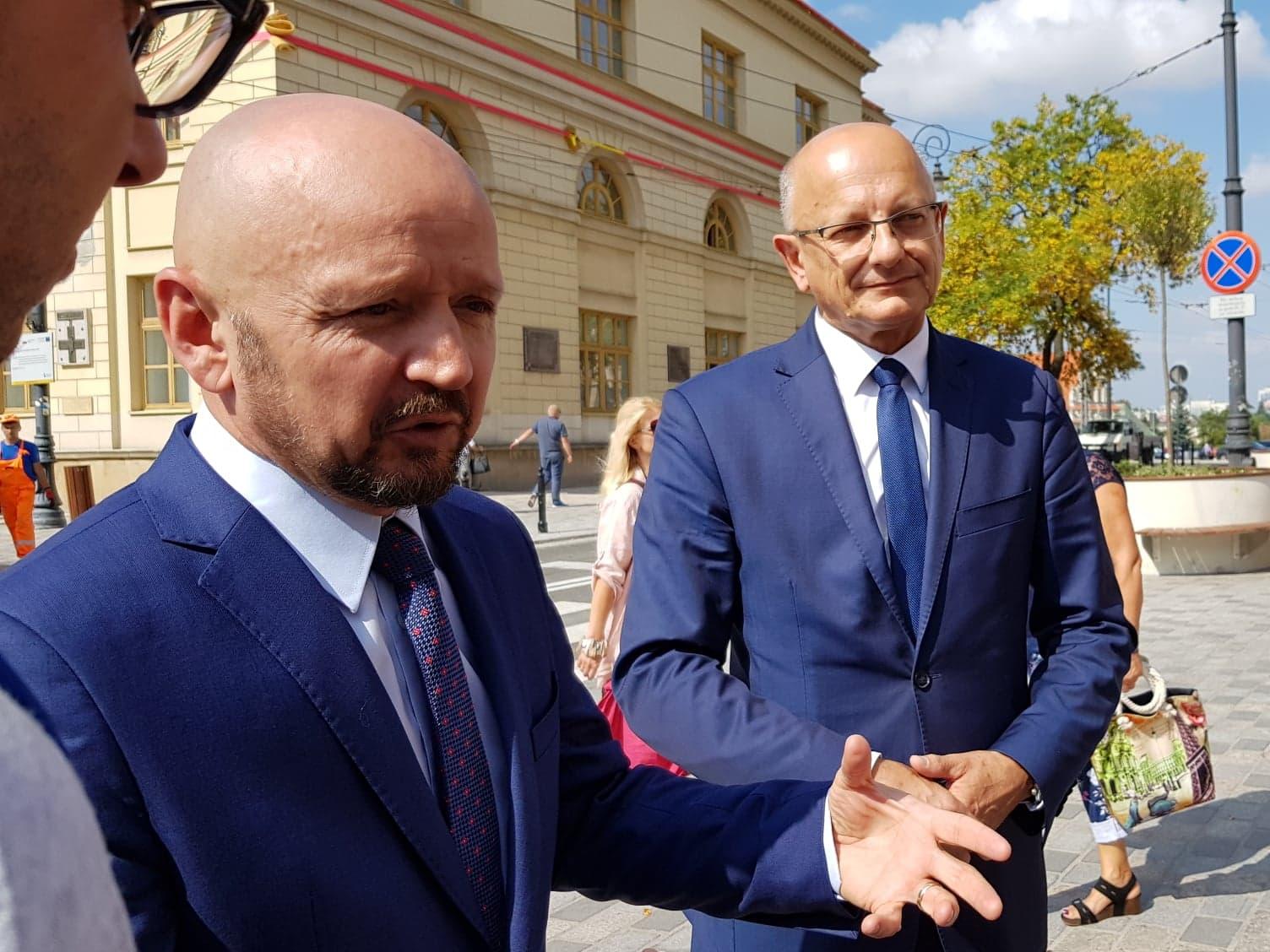 Prezydent Lublina udzielił poparcia Jackowi Buremu