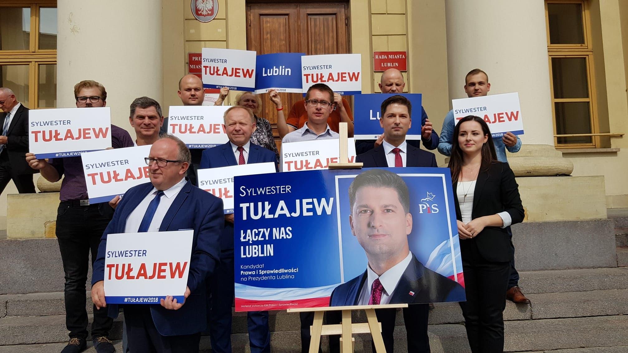 Łączy nas Lublin – Sylwester Tułajew ogłosił swoje hasło wyborcze