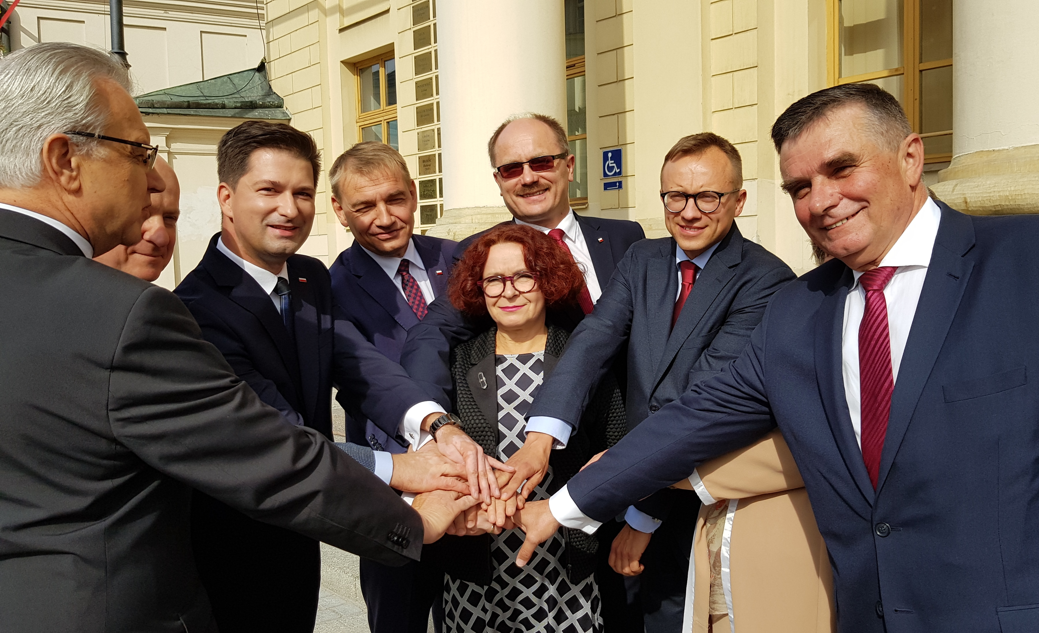 Coraz więcej polityków wyższego szczebla przyjeżdża wspierać kandydata na prezydenta Lublina