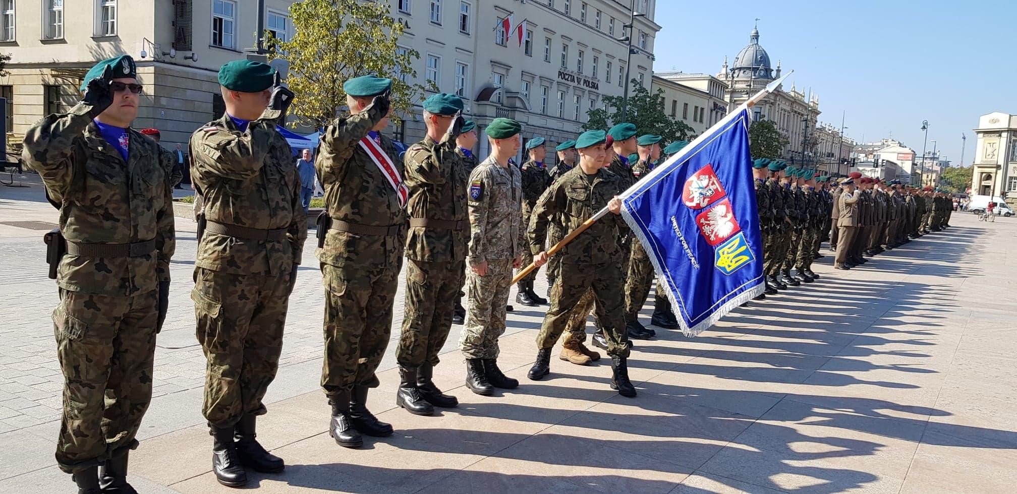 Wielonarodowa brygada Litewsko – Polsko – Ukraińska weszła w ważny moment w swojej historii