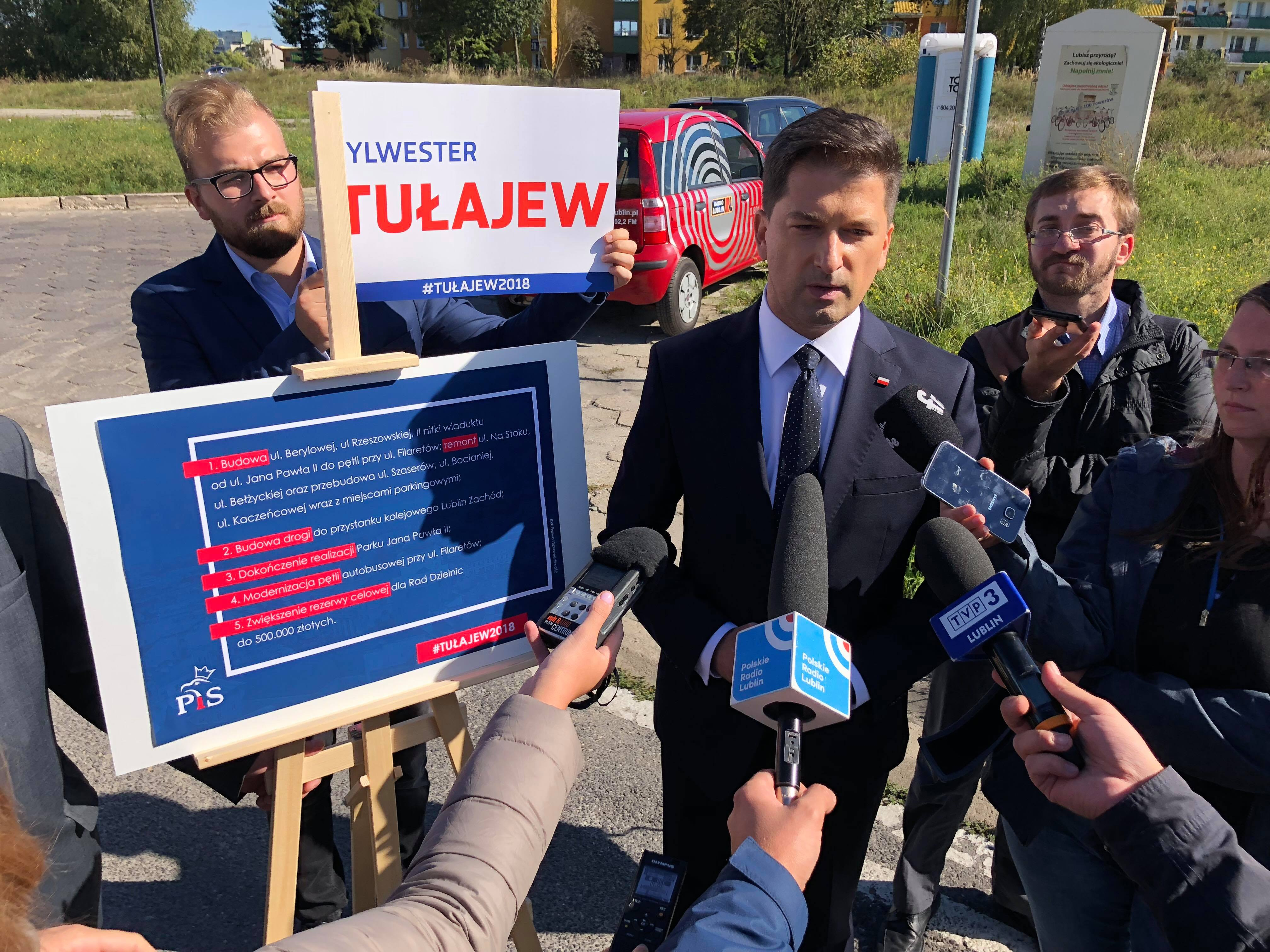5 obietnic dla Czubów Sylwestra Tułajewa