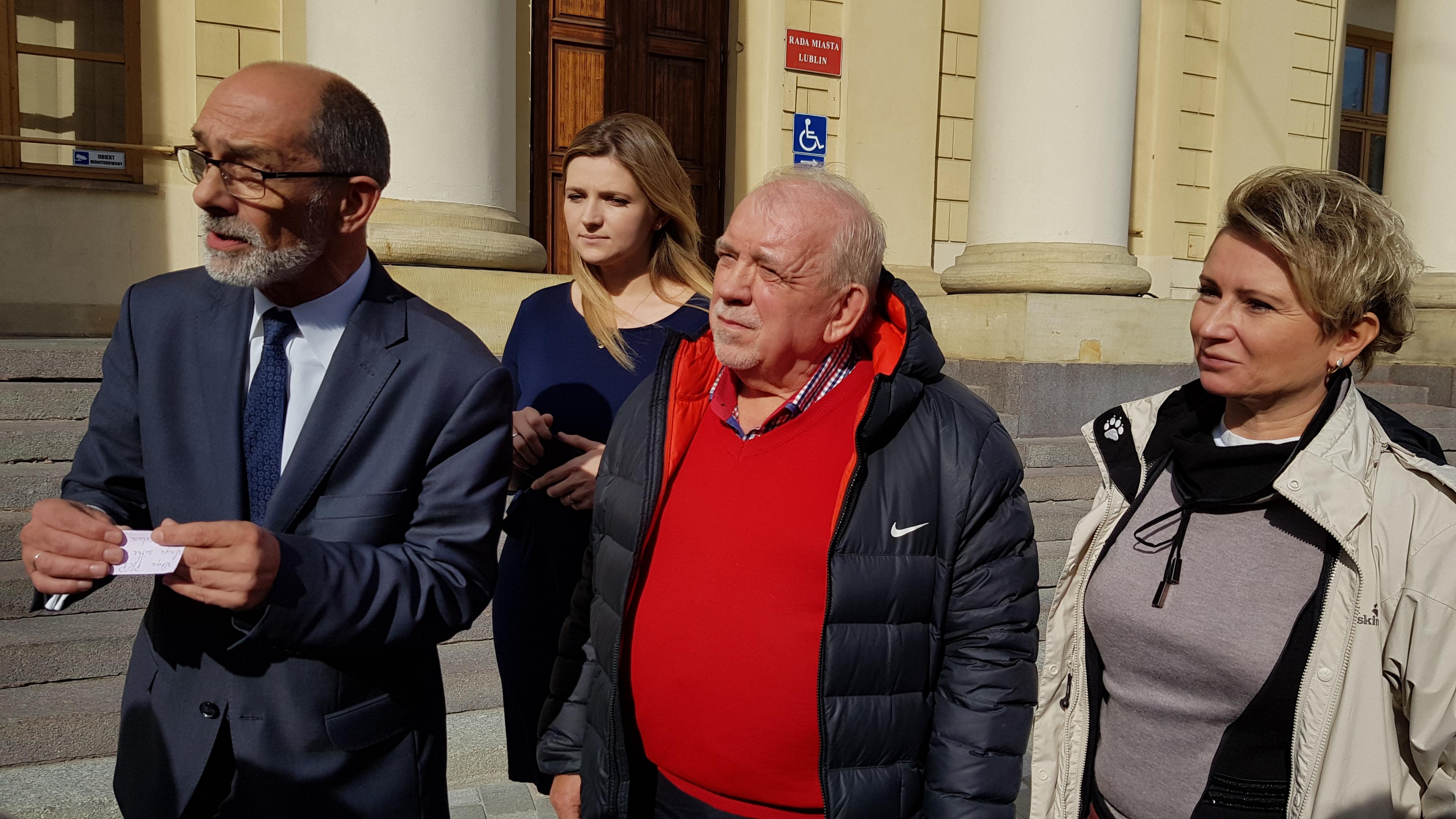 Radni Platformy Obywatelskiej oburzeni słowami Sylwestra Tułajewa