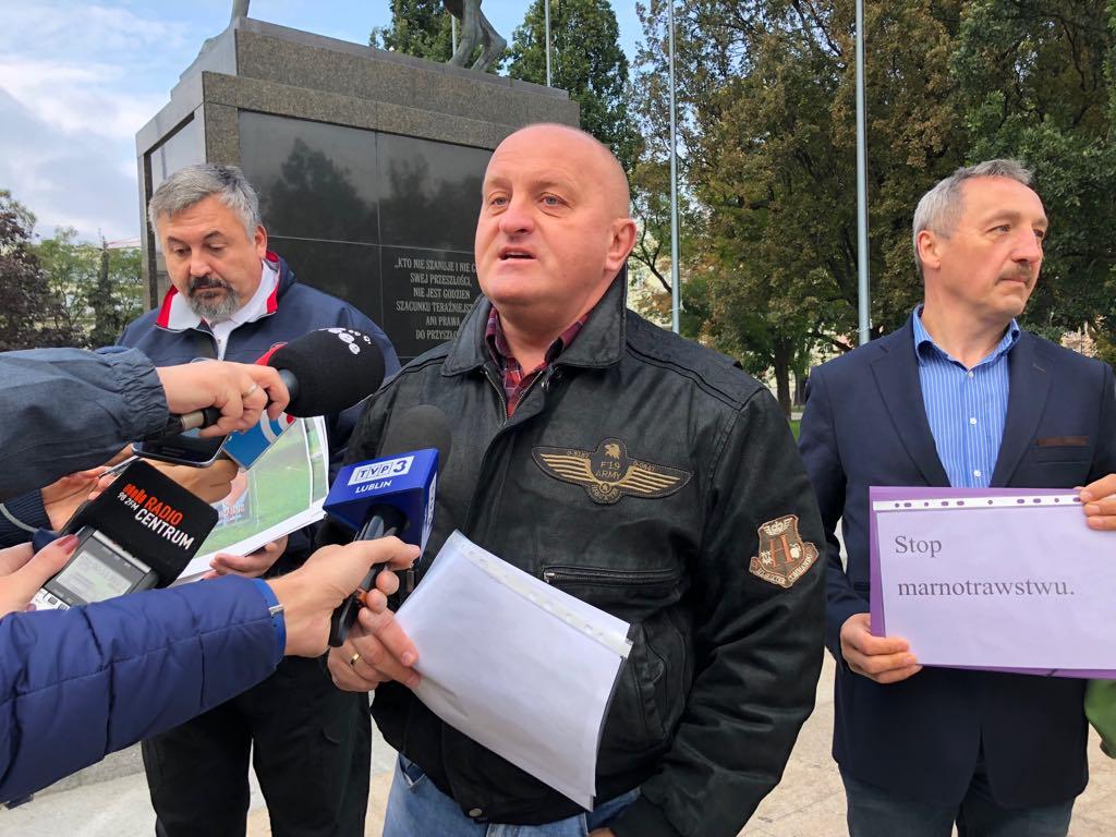 Kandydat na prezydenta Lublina chce spłaty długów, które zaciągnęło miasto