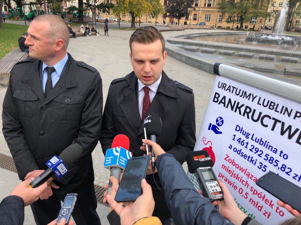 Uratujmy Lublin przed bankructwem – apelują działacze komitetu wyborczego