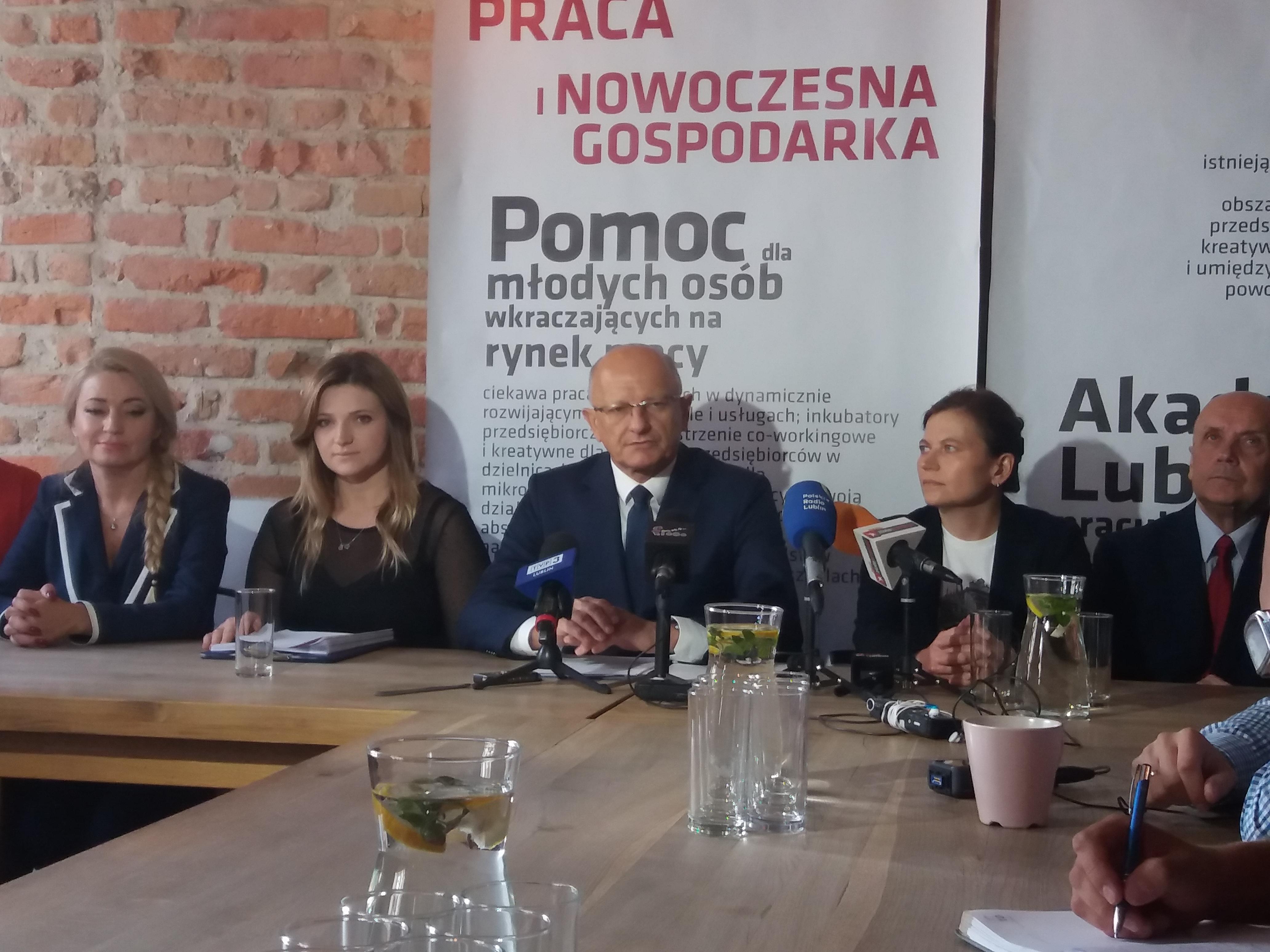 Założenia kolejnego obszaru kontraktu dla Lublina Krzysztofa Żuka na lata 2018-2023