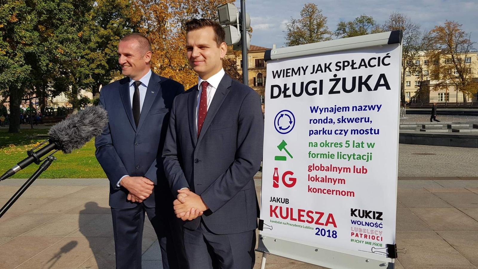 Spłata zadłużenia Lublina dzięki komercyjnemu wykorzystaniu przestrzeni miejskiej