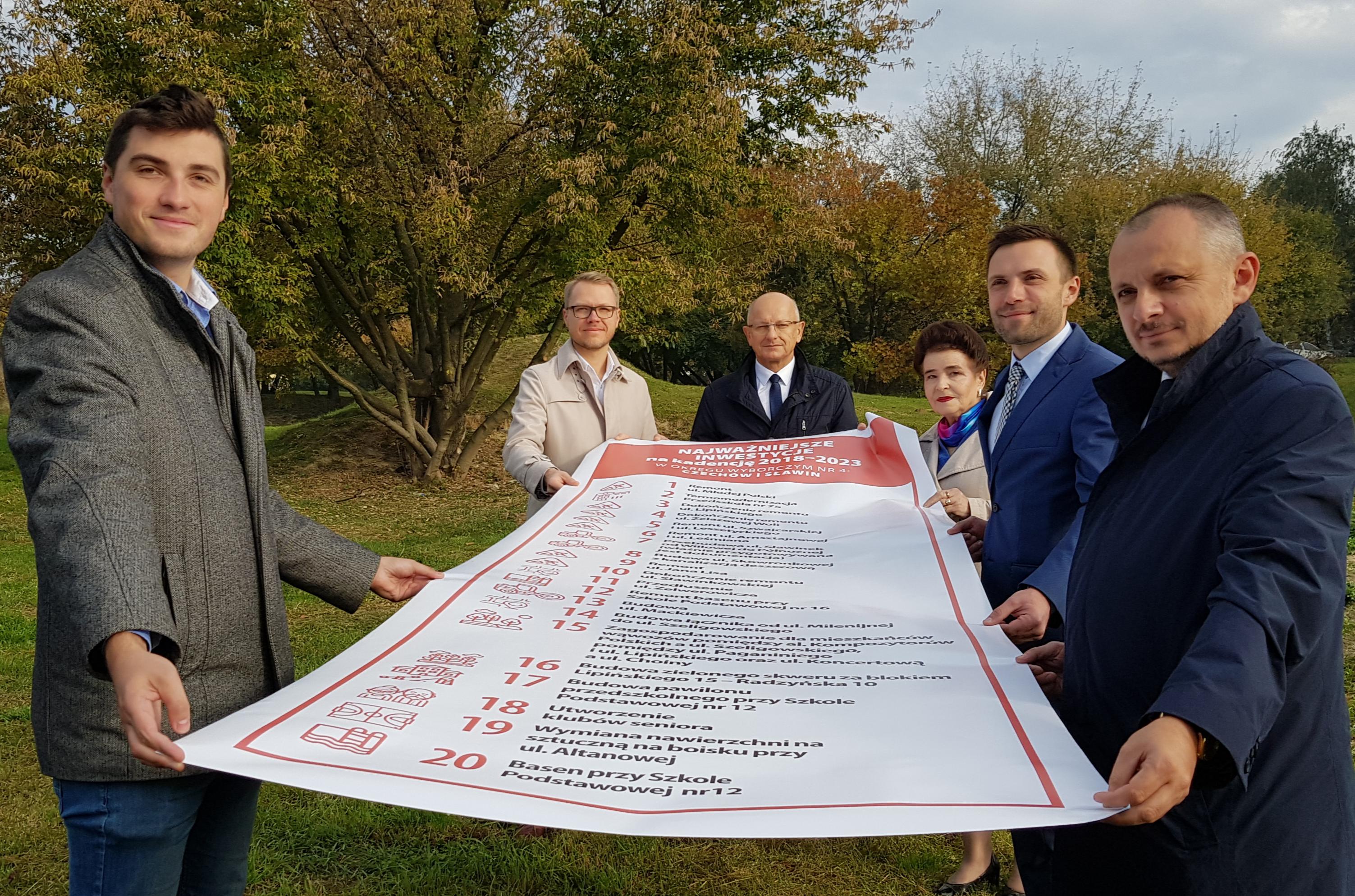 Prezydent Lublina Krzysztof Żuk zaprezentował swój program wyborczy dla dzielnic Czechów i Sławin