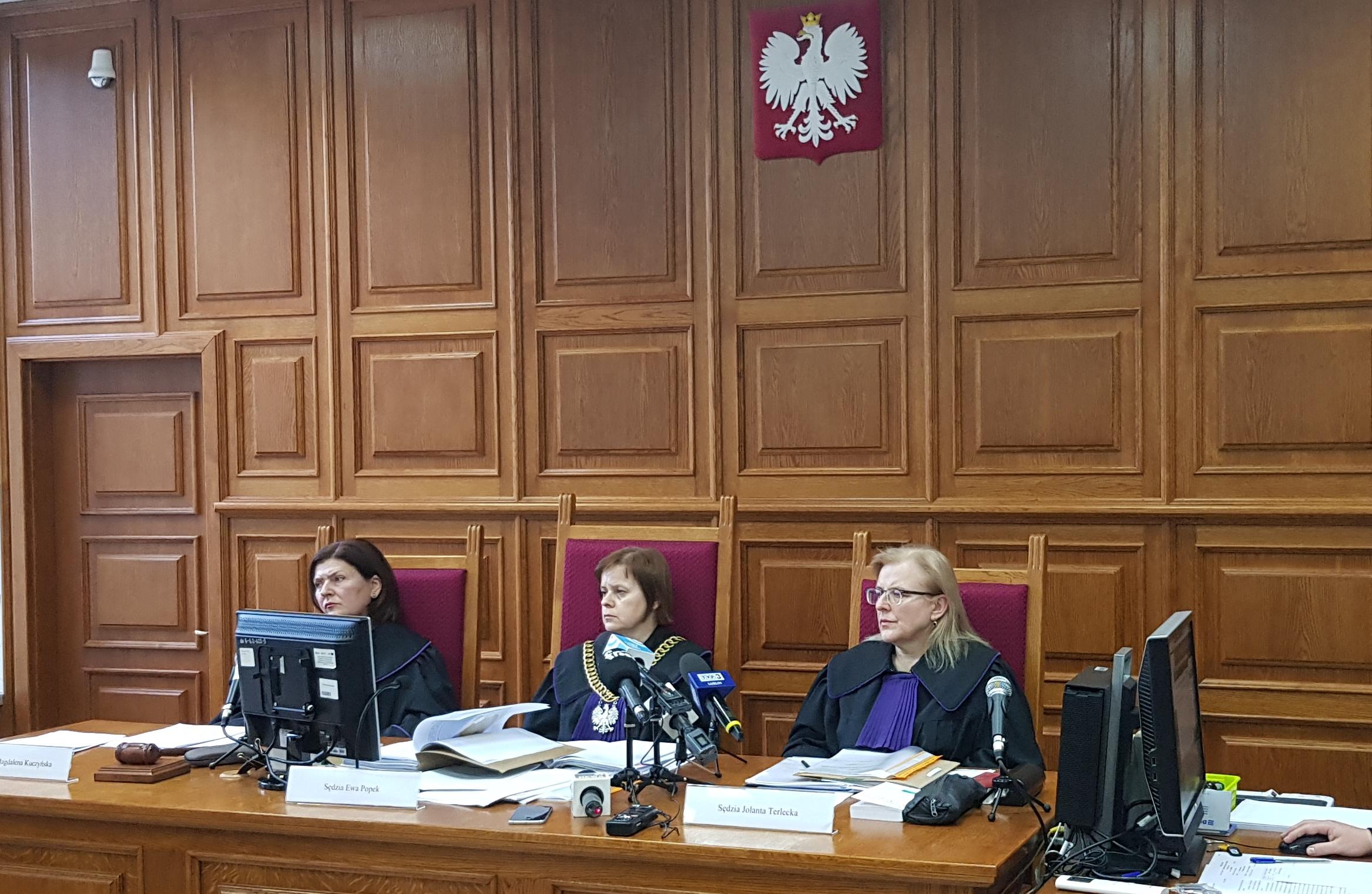 Sąd Apelacyjny rozpoznał odwołania od orzeczenia Sądu Okręgowego w Lublinie o podtrzymaniu decyzji prezydenta Krzysztofa Żuka
