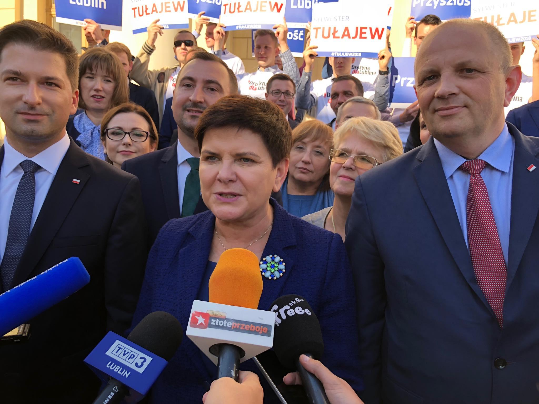 Beata Szydło z kolejną wizytą w Lublinie