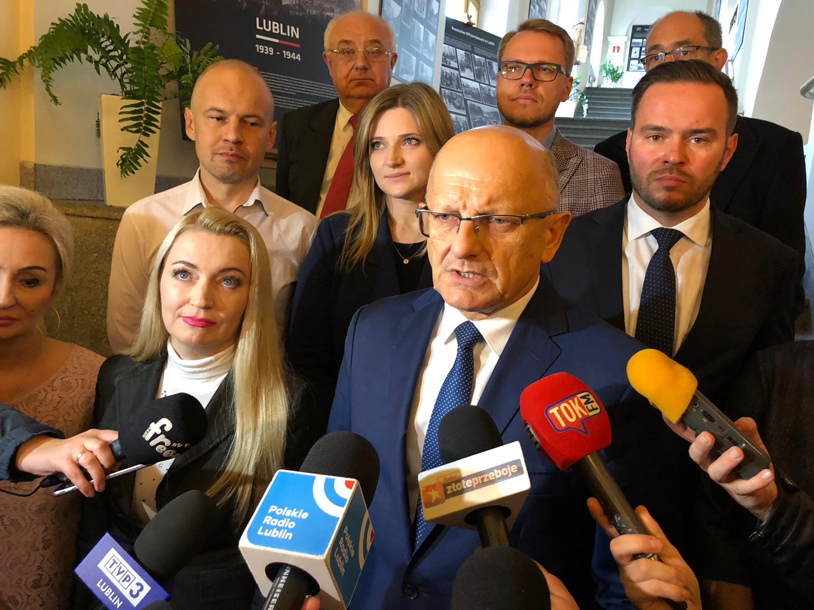 19 mandatów do Rady Miasta z Komitetu Wyborczego Wyborców Krzysztofa Żuka