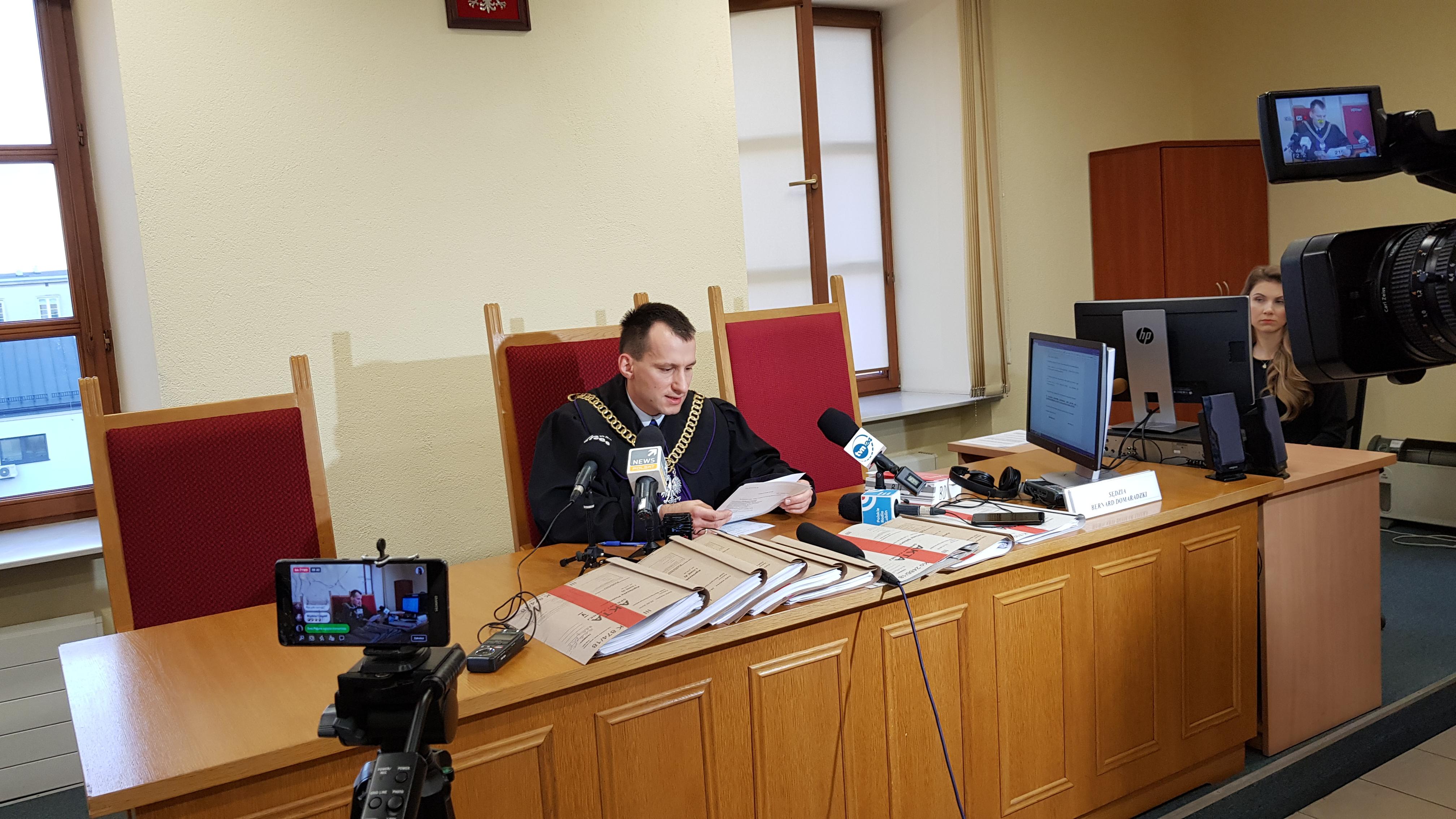 Sąd Rejonowy Lublin – Zachód umorzył postępowanie w sprawie wojewody lubelskiego Przemysława Czarnka.