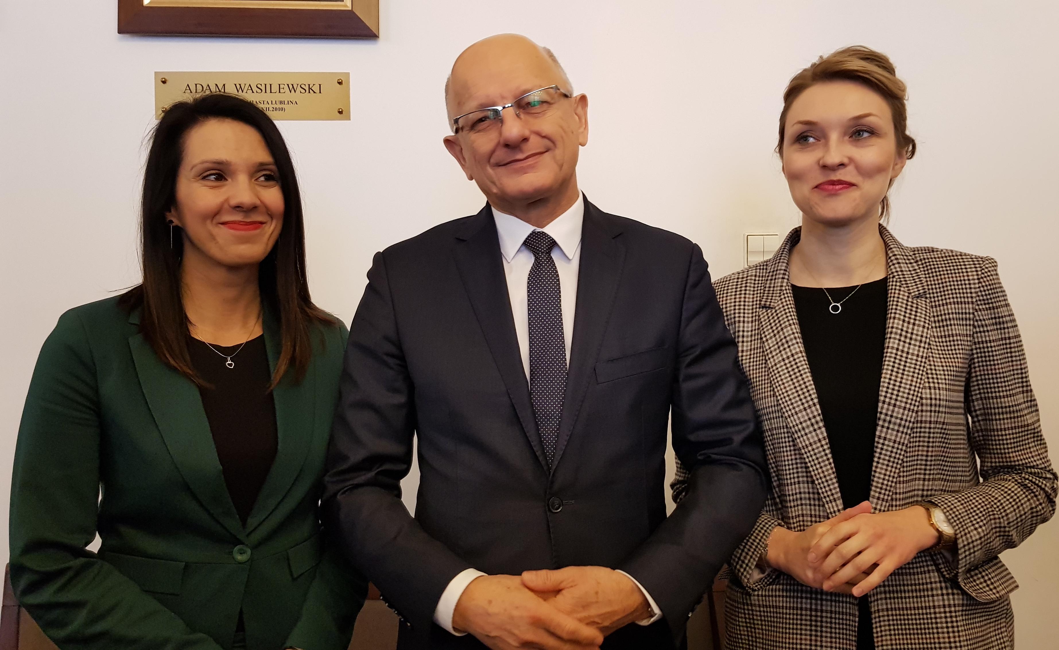 Prezydent Lublina ma nowego rzecznika