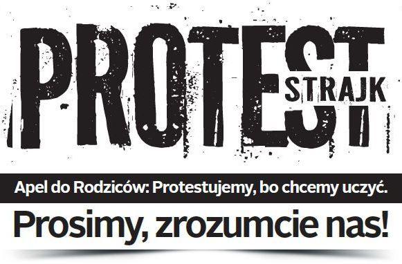 110 placówek w Lublinie prowadzi akcję protestacyjną