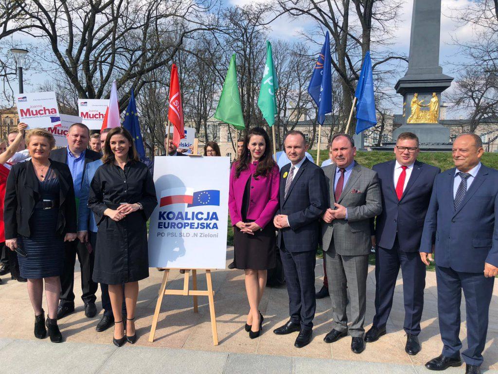 Znamy oficjalne listy Koalicji Europejskiej do Europarlamentu