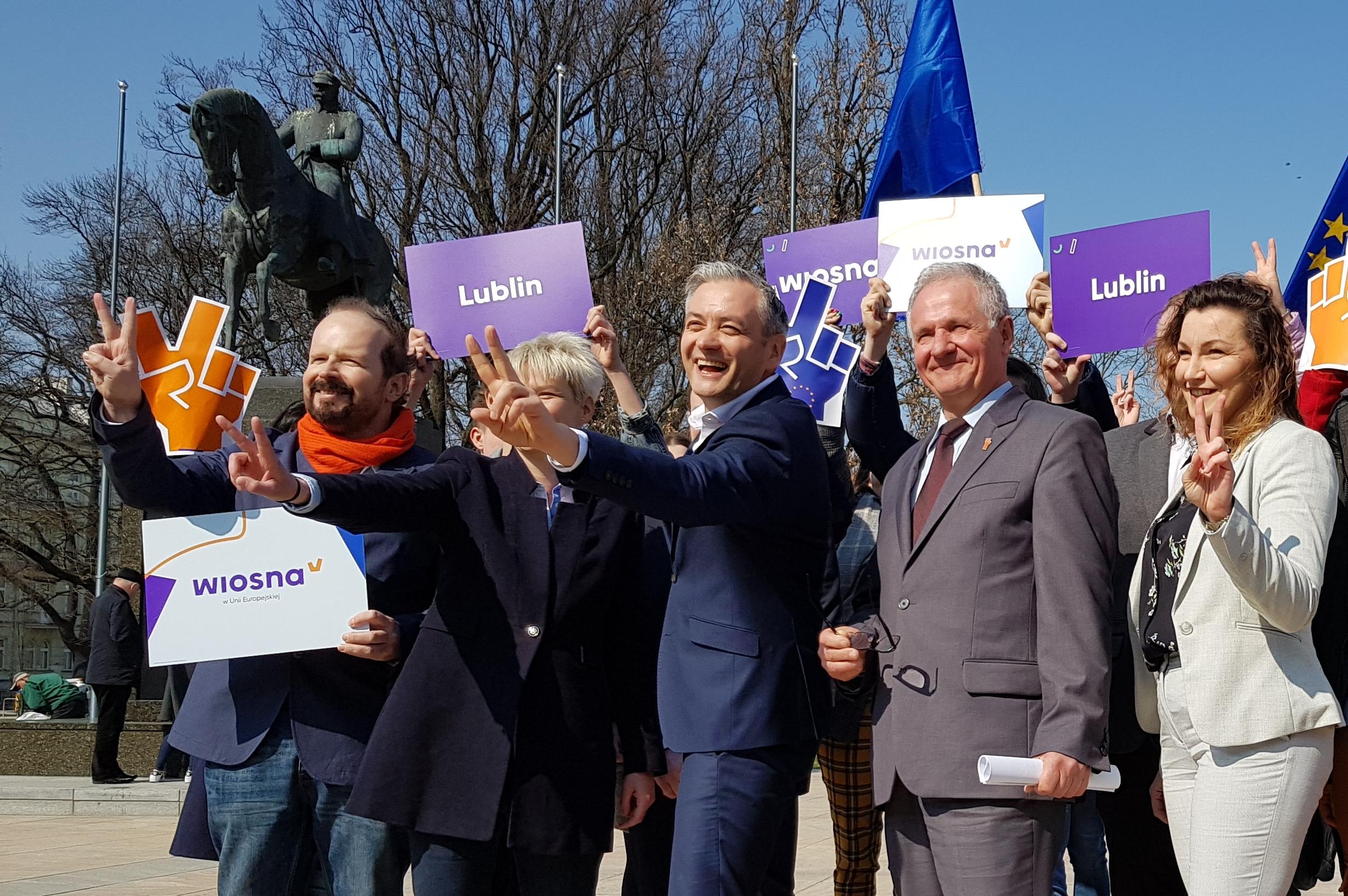 Koordynatorka Partii Wiosna w Lublinie, może stracić stanowisko